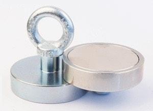 magnety s okom pre hľadanie pod vodou