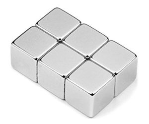 Neodýmové magnety - kocky