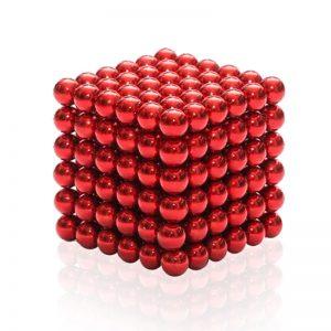 červená hračka neocube