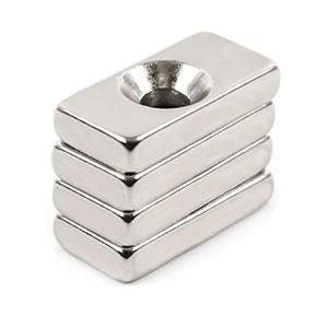 neodýmové magnety s dierou