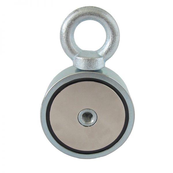 Magnet   s okom obojstranný - sila 2x310 kg