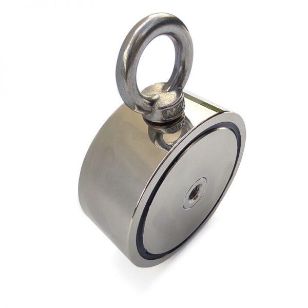 magnet pre hľadanie pokladov obojstranný sila 500 kg