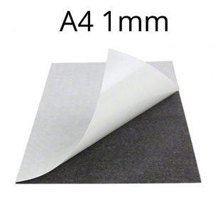 Samolepiaca   magnetická fólia A4 hrúbka 1 mm