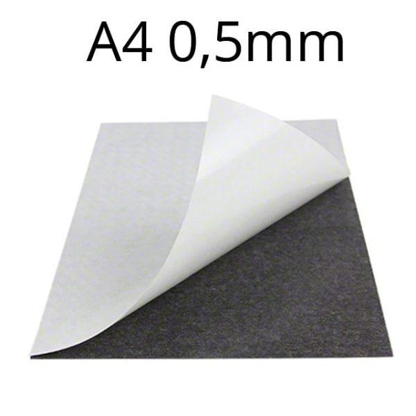 Samolepiaca   magnetická fólia A4 hrúbka 0,5 mm