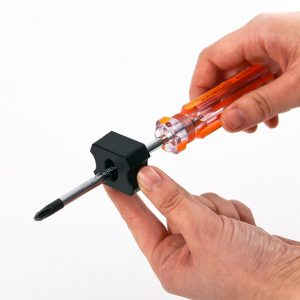 Magnetizér   a demagnetizér na skrutkovače