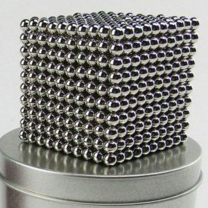 Magnetické   guličky NeoCube nikel XXL balenie (+6 náhradných guličiek)