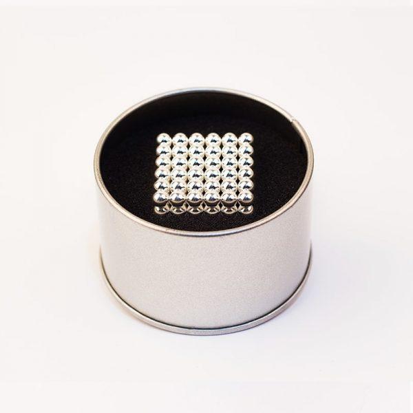 Magnetické   guličky NeoCube strieborná