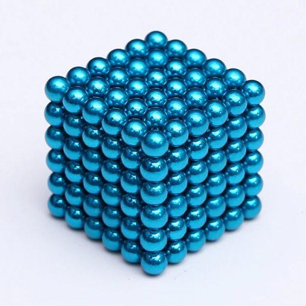 Magnetické   guličky NeoCube tyrkysová (+6 náhradných guličiek)