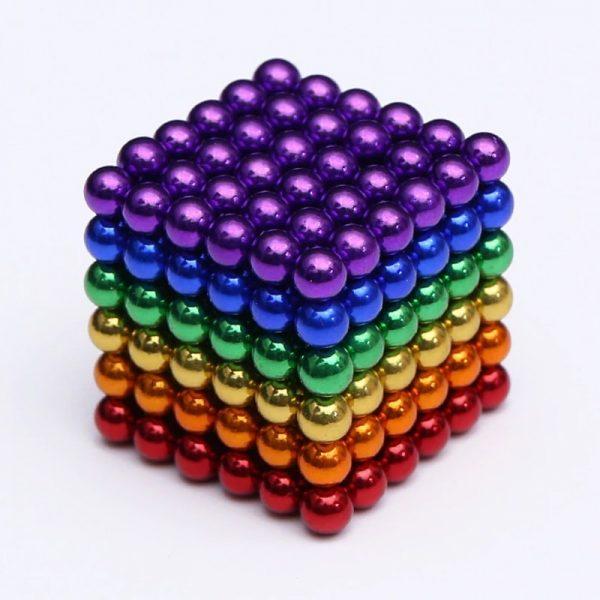 Magnetické   guličky NeoCube 6 farieb (+6 náhradných guličiek)