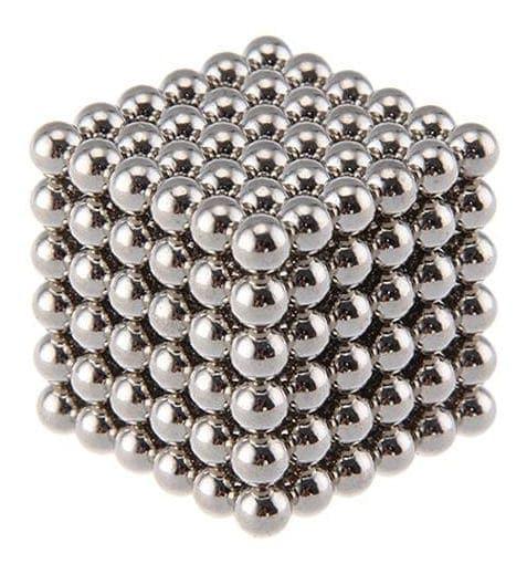 Magnetické guličky NeoCube nikel (+6 náhradných guličiek)