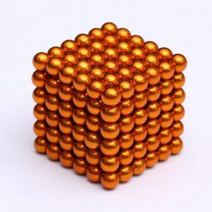 Magnetické   guličky NeoCube oranžová