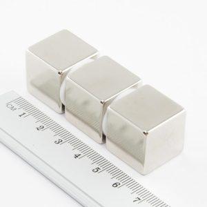 Neodýmový magnet kocka 20x20x20 mm - N38