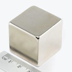 Neodýmový   magnet kocka 30x30x30 mm - N38