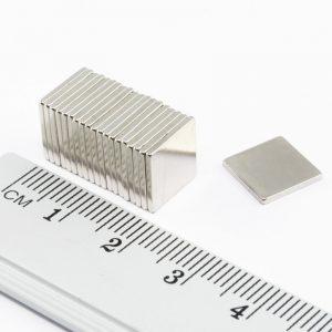 Neodýmový   magnet kváder 10x10x1,2 mm - N38