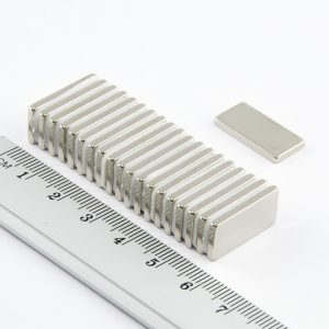Neodýmový   magnet kváder 20x10x2 mm - N33