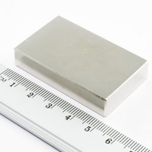Neodýmový   magnet kváder 50x30x13 mm - N35