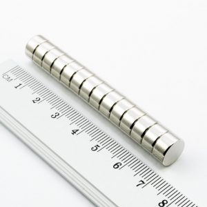 Neodýmový magnet valec 10x5 mm - N25