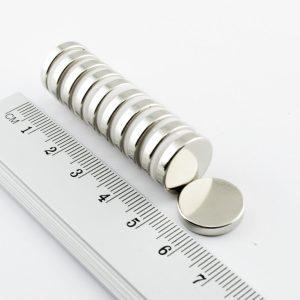 Neodýmový   magnet valec 15x2,7 mm - N30