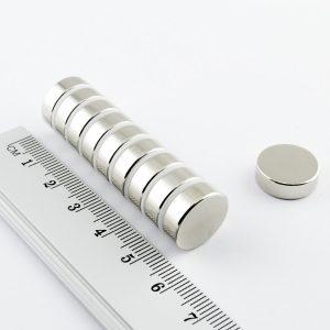Neodýmový magnet valec 15x5 mm - N25