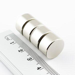 Neodýmový   magnet valec 15x8 mm - N38