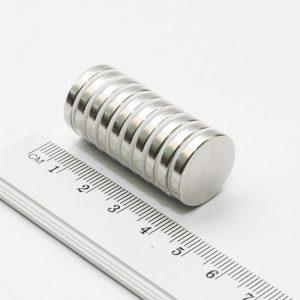 Neodýmový   magnet valec 18x3 mm - N38