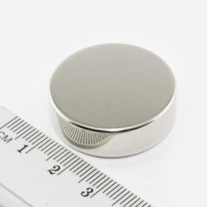 Neodýmový   magnet valec 30x10 mm - N38