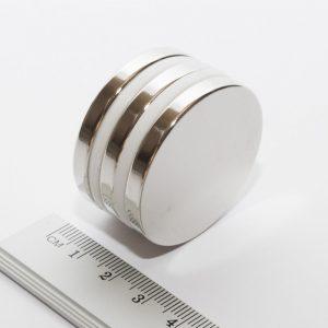 Neodýmový magnet valec 40x5 mm - N38