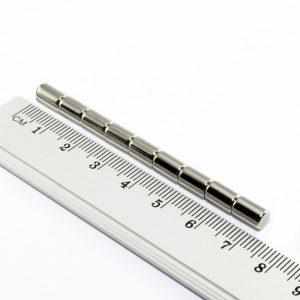 Neodýmový   magnet valec 5x8 mm - N25