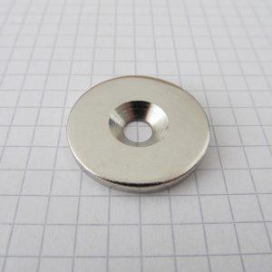 Oceľový   protikus kotúč 27x2 mm