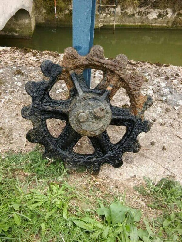 magnet fishing ozubené koleso